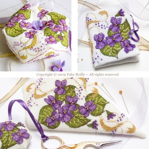Violet Stitching Set - Faby Reilly Designs