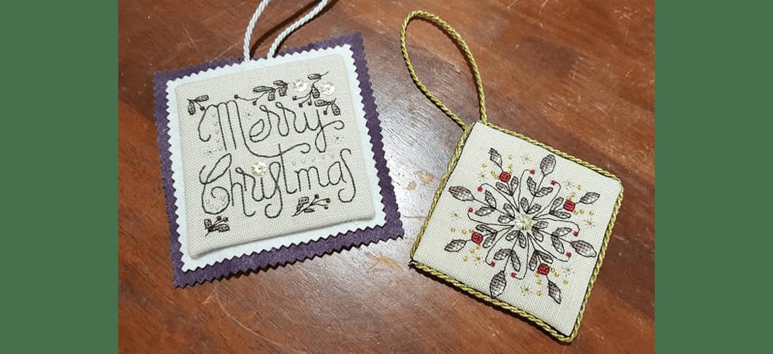 Christie SAL - stitched by Catherine