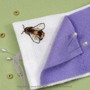 Lilac Needlebook - Faby Reilly Designs