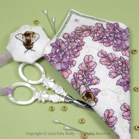 Lilac Scissor Case – Faby Reilly Designs