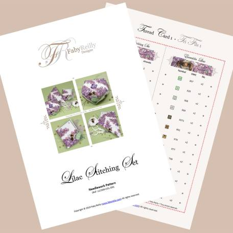 Lilac Stitching Set – Faby Reilly Designs