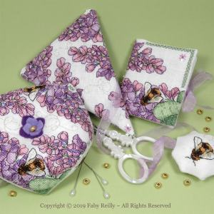 Lilac Stitching Set - Faby Reilly Designs