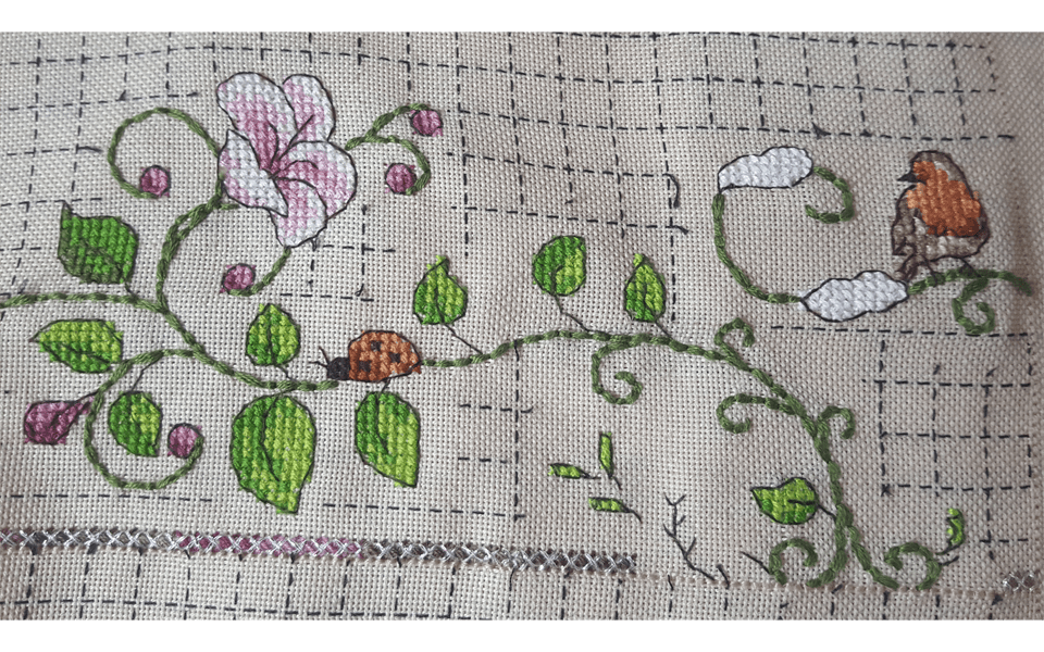 stitched by Petra