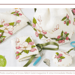 Apple Blossom Stitching Set