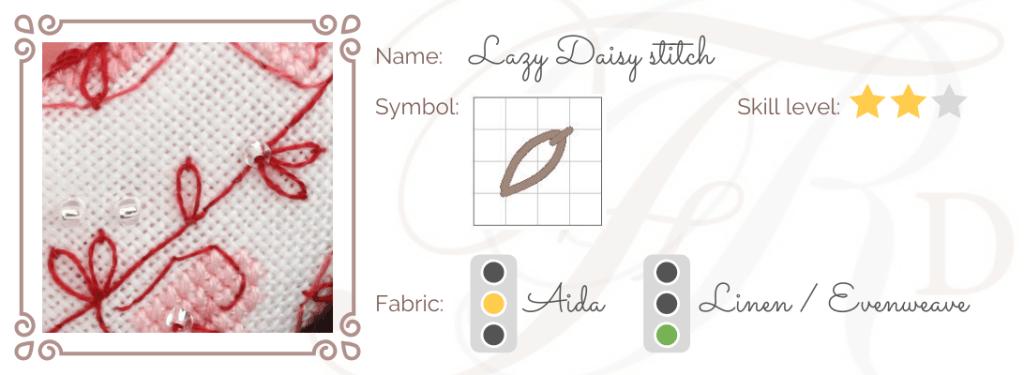 Lazy Daisy Stitch ID
