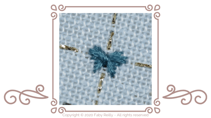 Rhodes Butterfly stitch