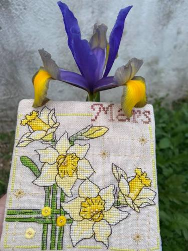 Stitched & finished by Olga