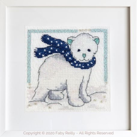 Navy and Mint Mini Frame 01A – Faby Reilly Designs