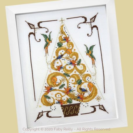O Tannenbaum in Gold 01 – Faby Reilly Designs