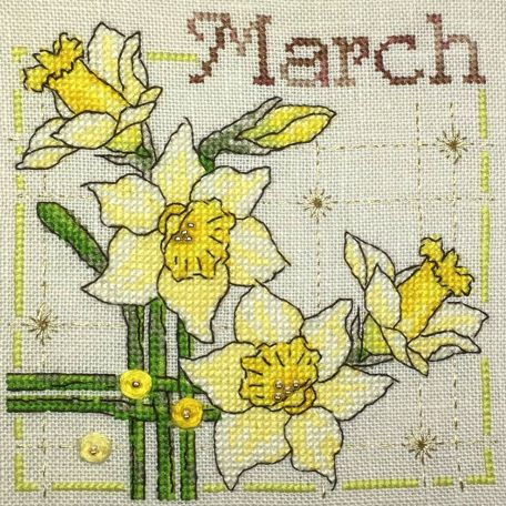 Anthea Calendar – March 02 – Faby Reilly Designs
