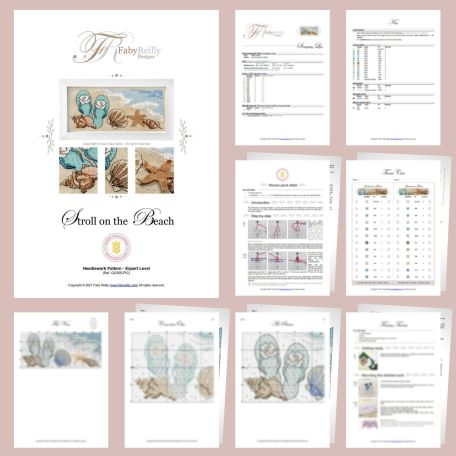 Stroll on the Beach Sample Pages – Faby Reilly Designs