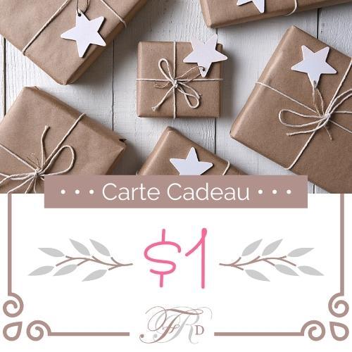 Carte Cadeau - $1