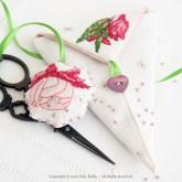 Fuchsia Scissor Case