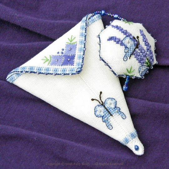 Lavender Scissor Case