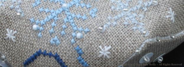 Snowflake Biscornu