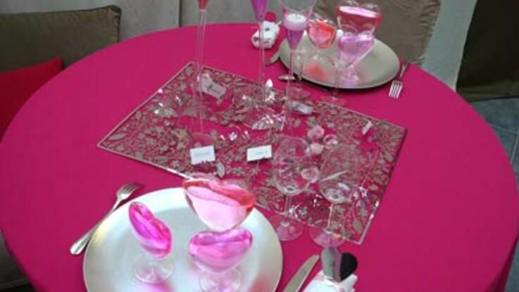Table Saint Valentin Gallery Of Table Saint Valentin With