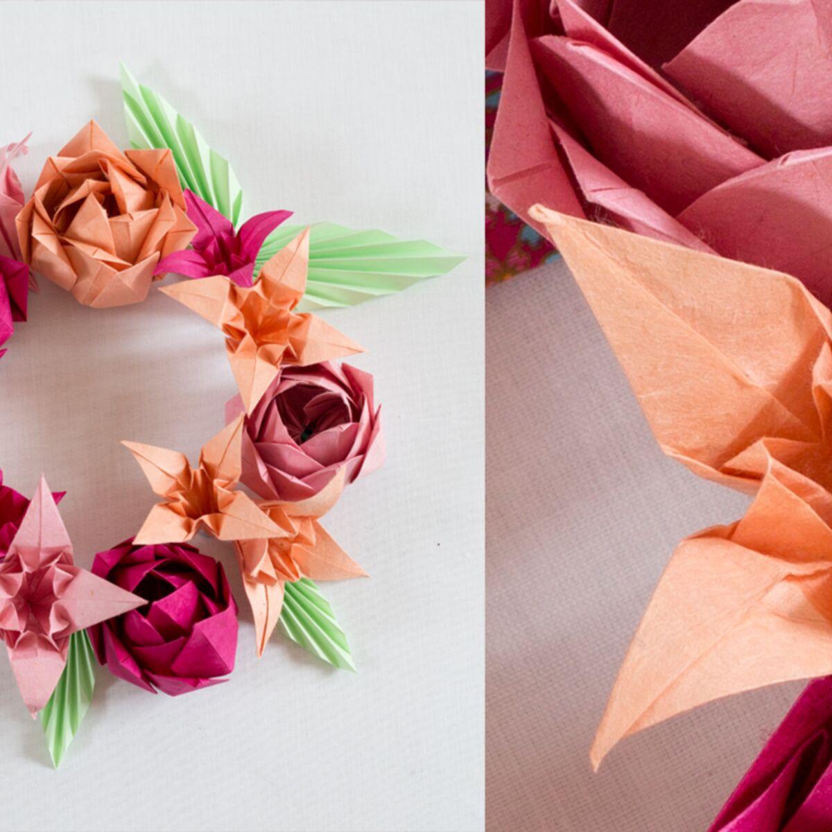 Origami Une Fleur De Lys Femme Actuelle Le Mag