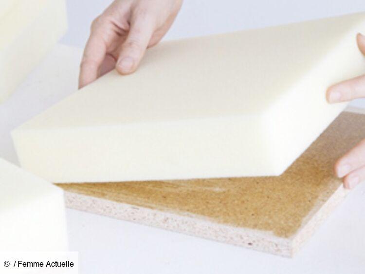 bricolage une tete de lit matelassee
