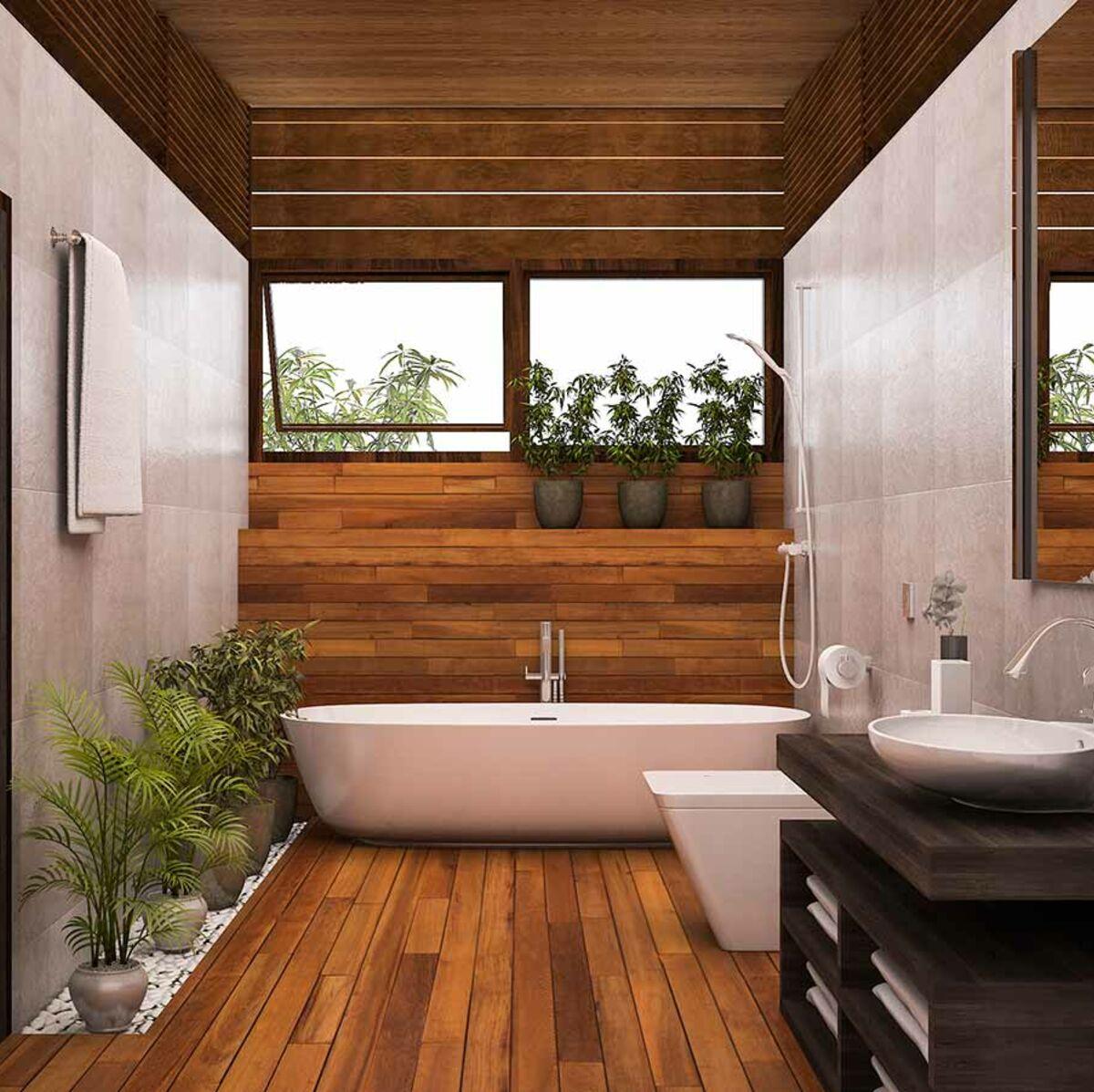 peinture de salle de bains quelles