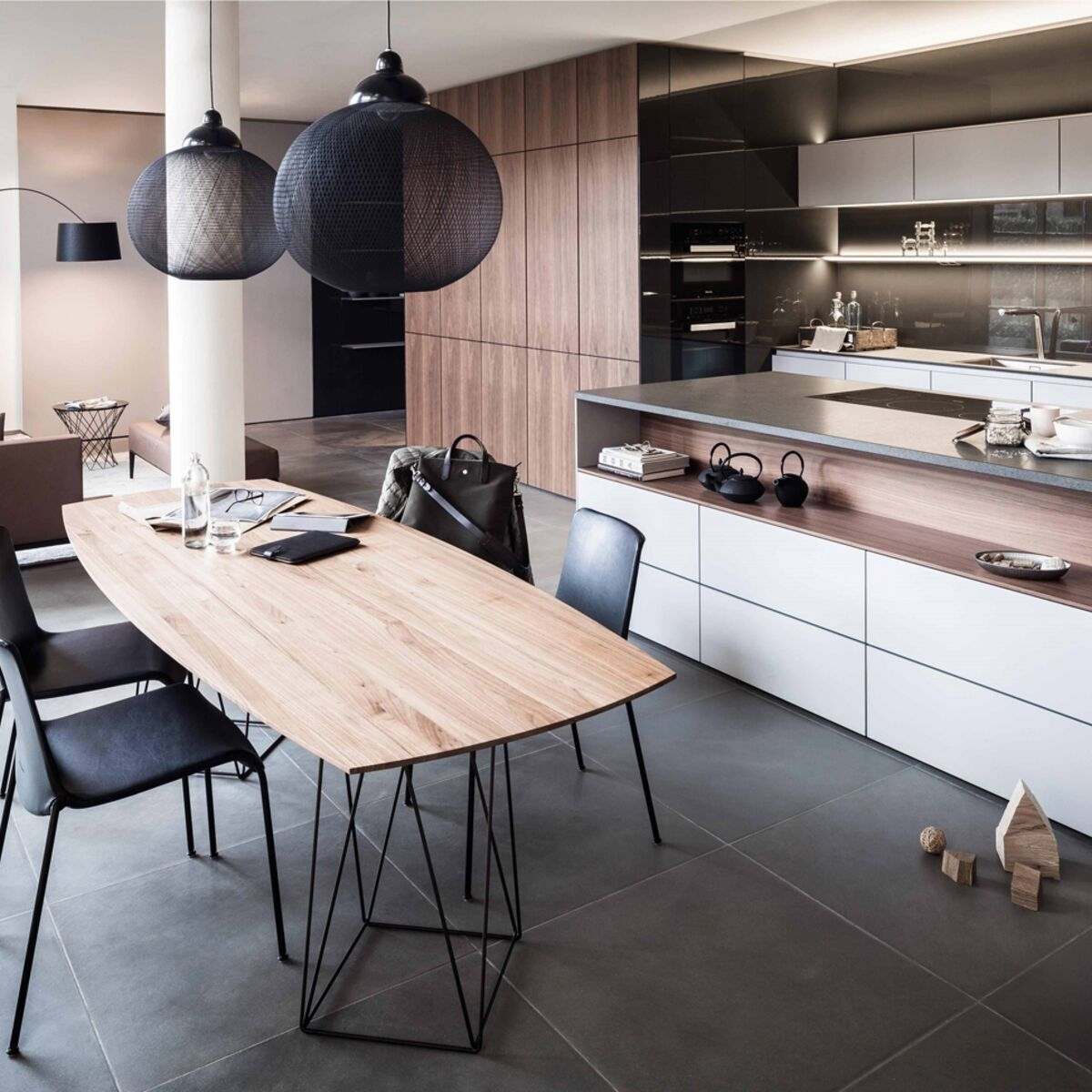 cuisine salle a manger contemporaine