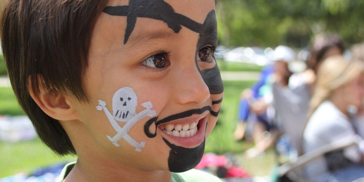 halloween un maquillage de pirate