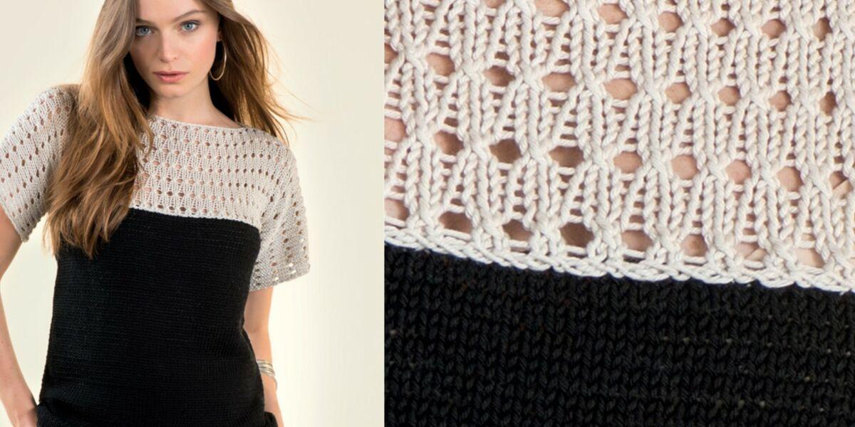 secouer volcanique laissez tomber modele tricot ete femme gratuit