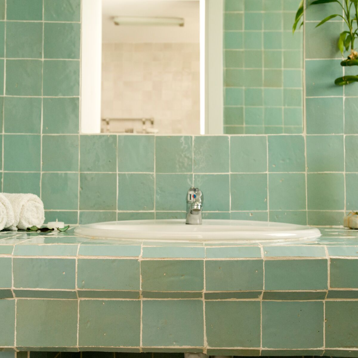 carrelage de salle de bain tendance
