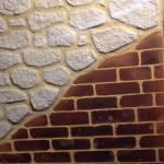 enduit déco pierre et déco brique