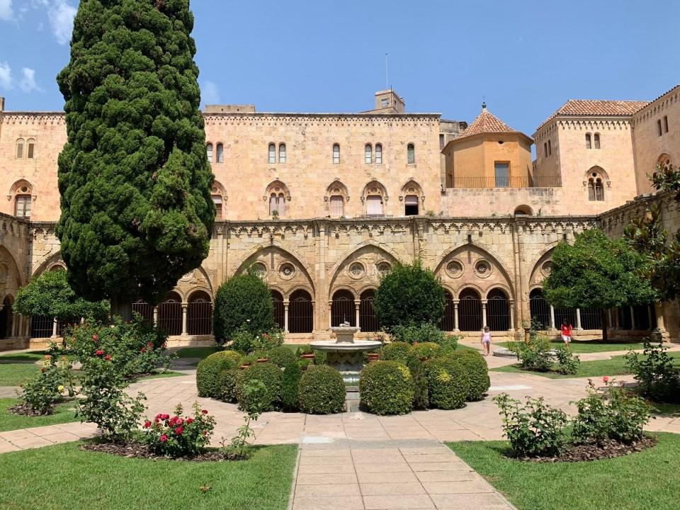 Chiostro della Cattedrale di Tarragona.