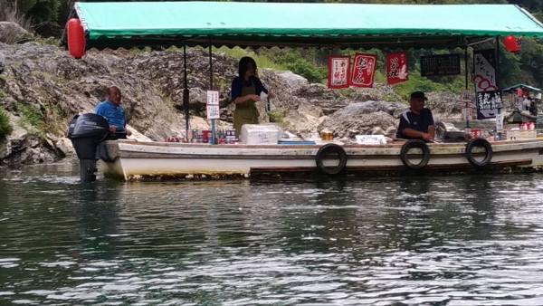 10 cose da fare in giappone, faccio come mi pare, viaggio in giappone, expat blog, blog viaggi, giappone, Hozugawa, barca ad hozugawa, sagano romantic train