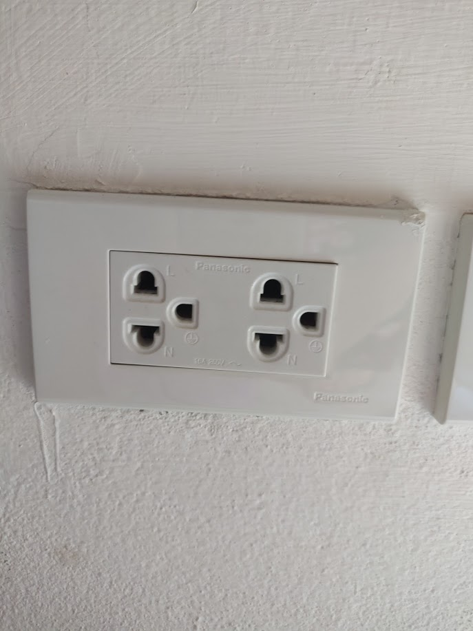 Presa elettrica in Thailandia