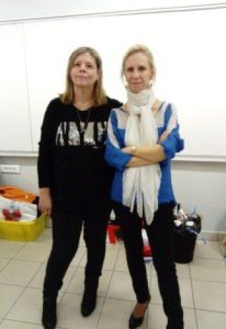 Ces deux enseignantes pilotent le projet TEKNIK au collège Fernand Léger
