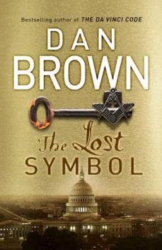 Cover of Dan Brown's The Lost Symbol.