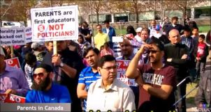 protest canada