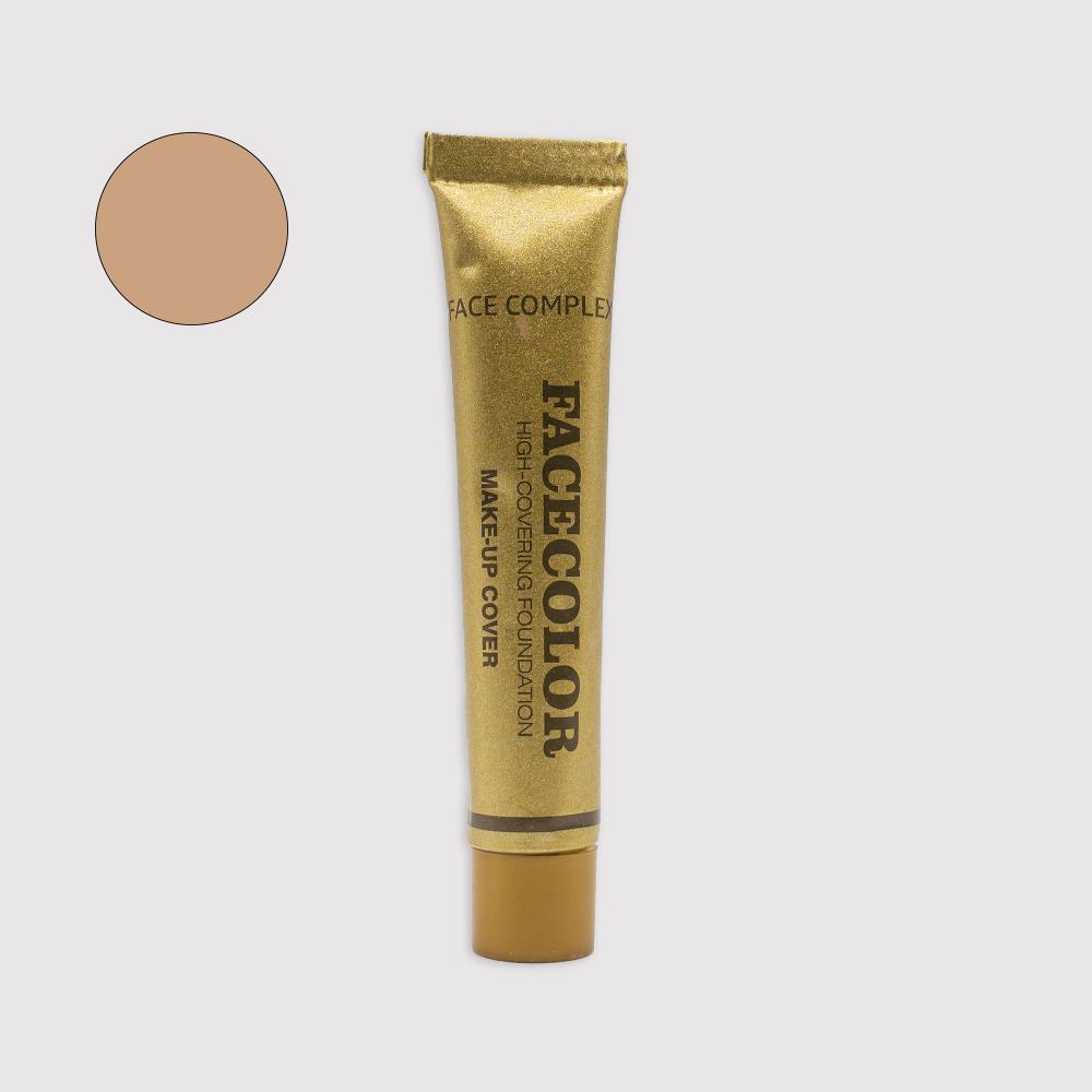 Fondotinta coprente face color 02 Face Complex Cosmetics