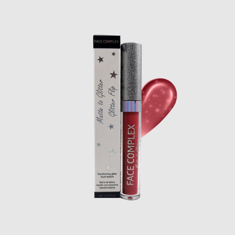 Tinta labbra matt + glitter 104