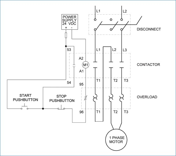 3 Phase Motor Circuit Diagram - Explained Wiring Diagrams