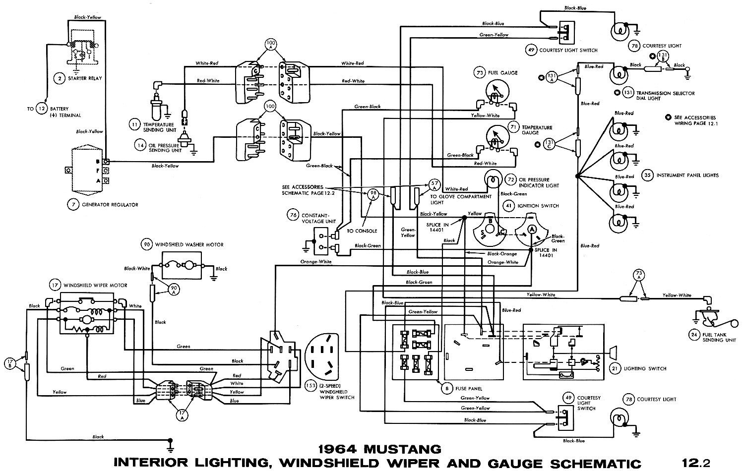 Mustang Ignition Switch Wiring Diagram Download