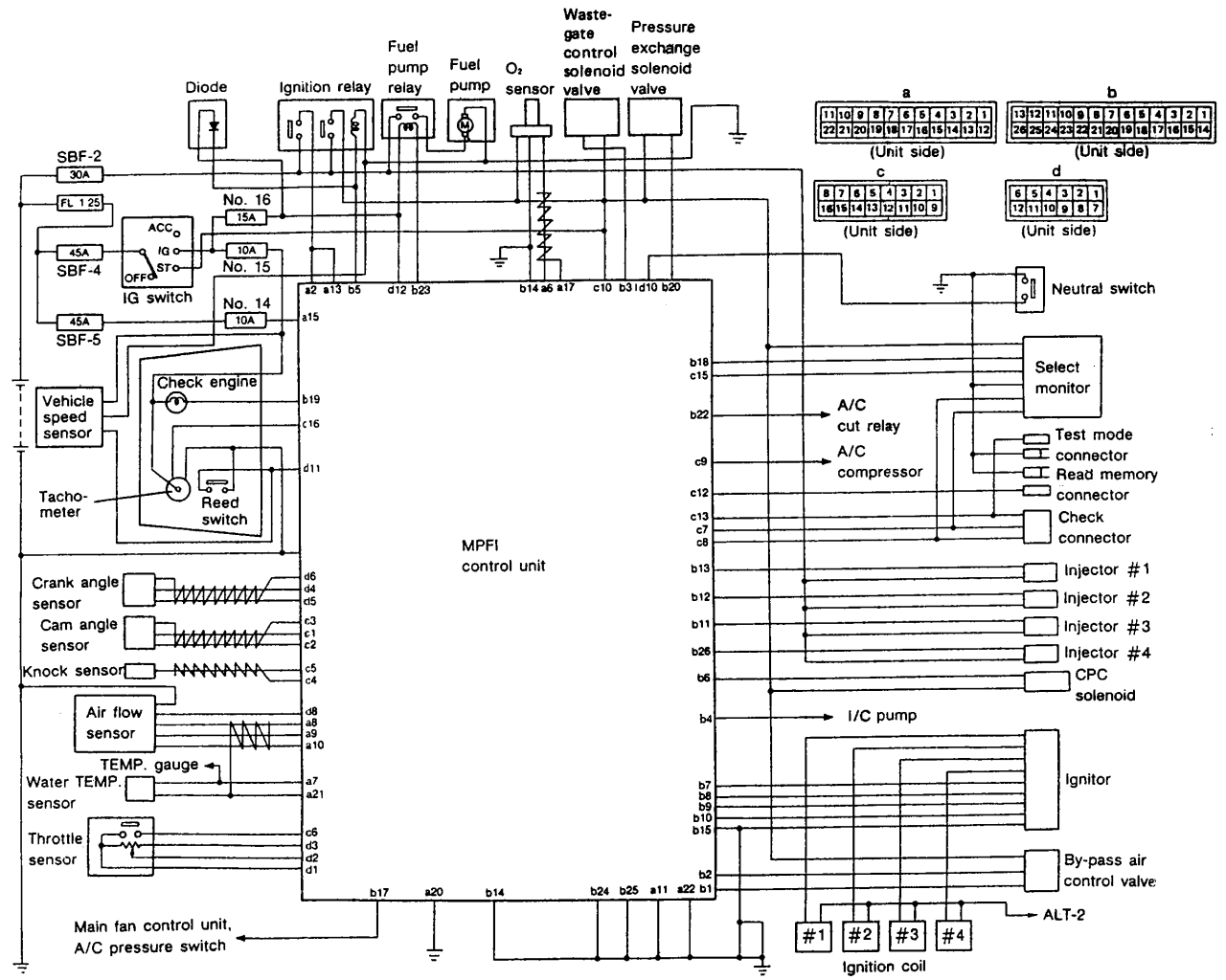 97 Subaru Legacy Engine Diagram