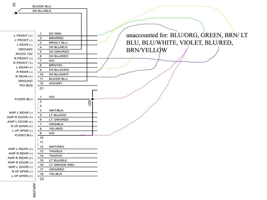 2005 Toyota Matrix Wiring Diagram Library Highlander Dodge Ram Speaker Wire Color Code Zeenla Co Stereo 2001