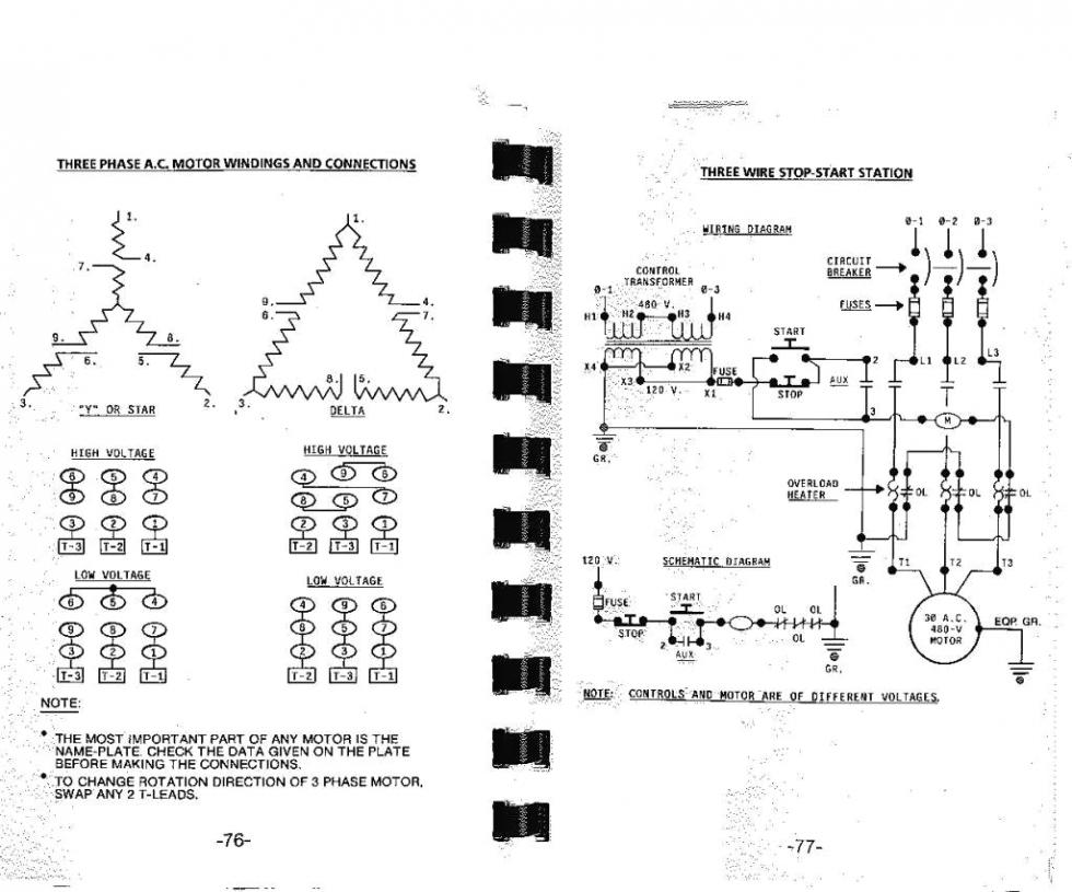 9 Pole Stator Wiring Diagram Detailed Schematics Trailer 220v 3 Phase Motor Newmotorspot Co 2001 Yamaha Banshee
