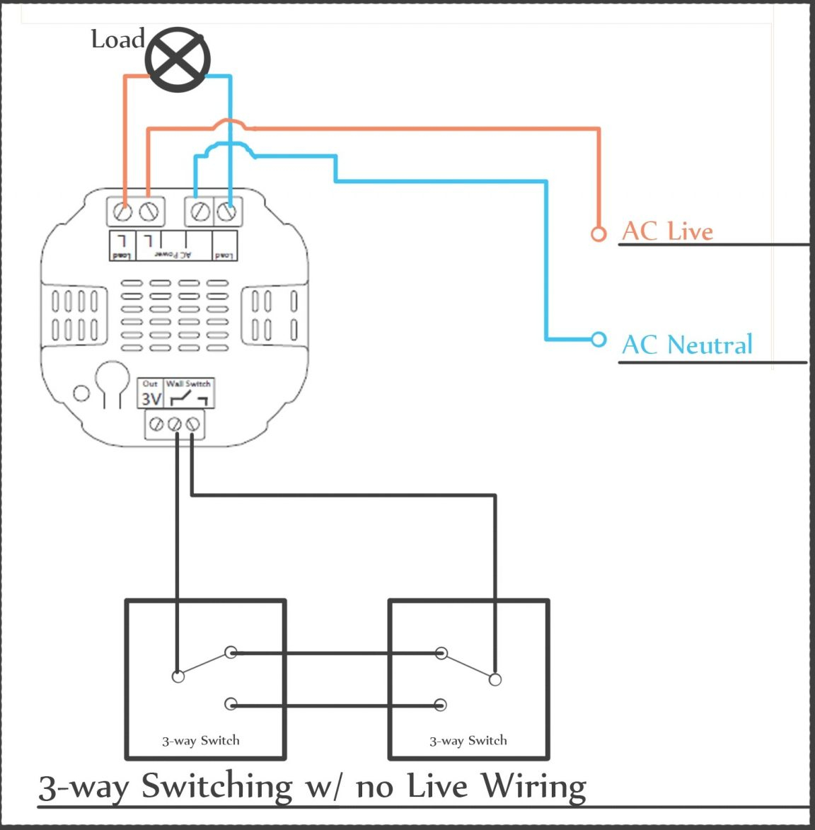 Light Switch 3 Wire
