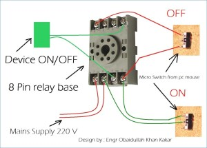 8 Pin Ice Cube Relay Wiring Diagram Gallery | Wiring