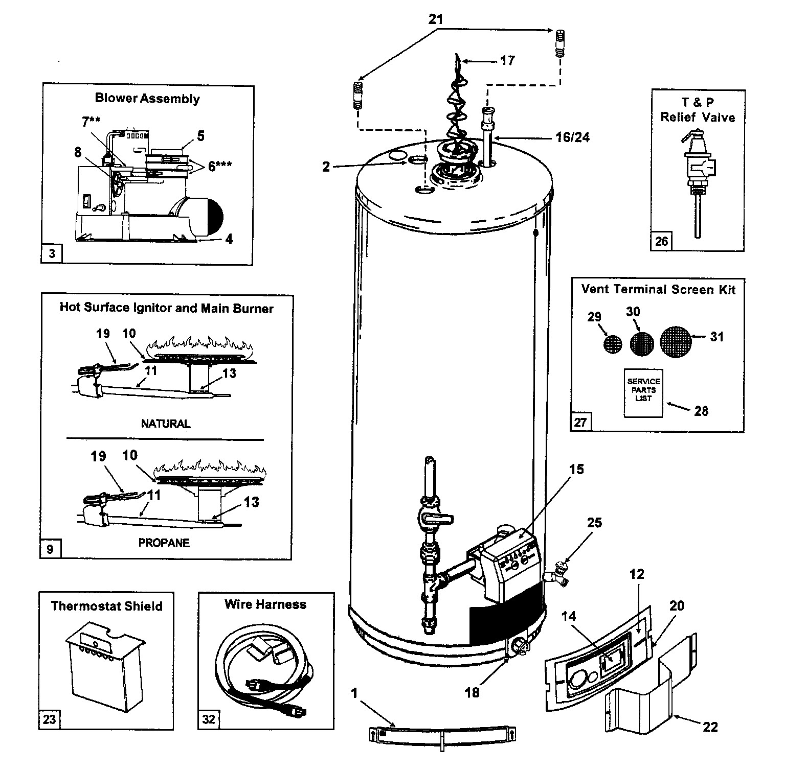 Ao Smith Water Heater Thermostat Wiring Diagram Gallery