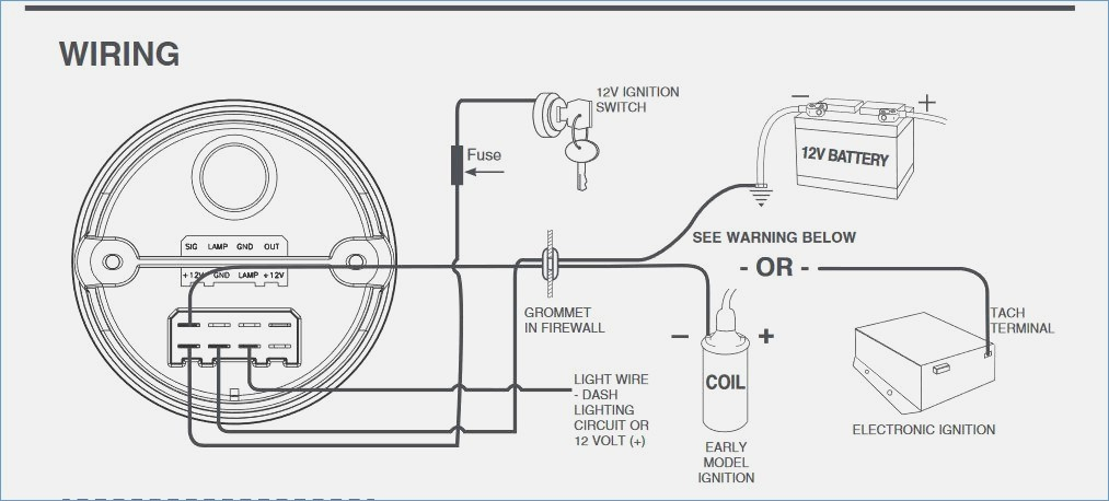 Vdo Tachometer Wiring | Wiring Diagram on
