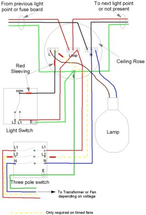 Bathroom Fan with Timer Wiring Diagram Download | Wiring Diagram Sample