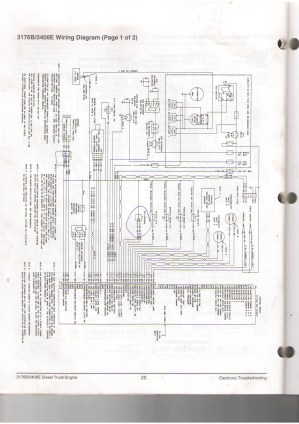 [WRG1056] Cat Engine Diagram