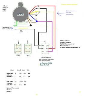 Electric Motor Reversing Switch Wiring Diagram Download | Wiring Diagram Sample