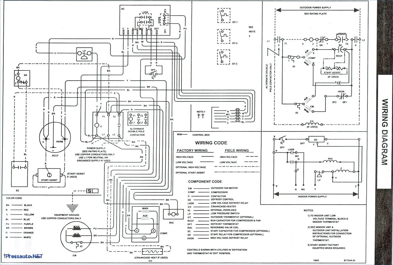 Electric Furnace Wiring