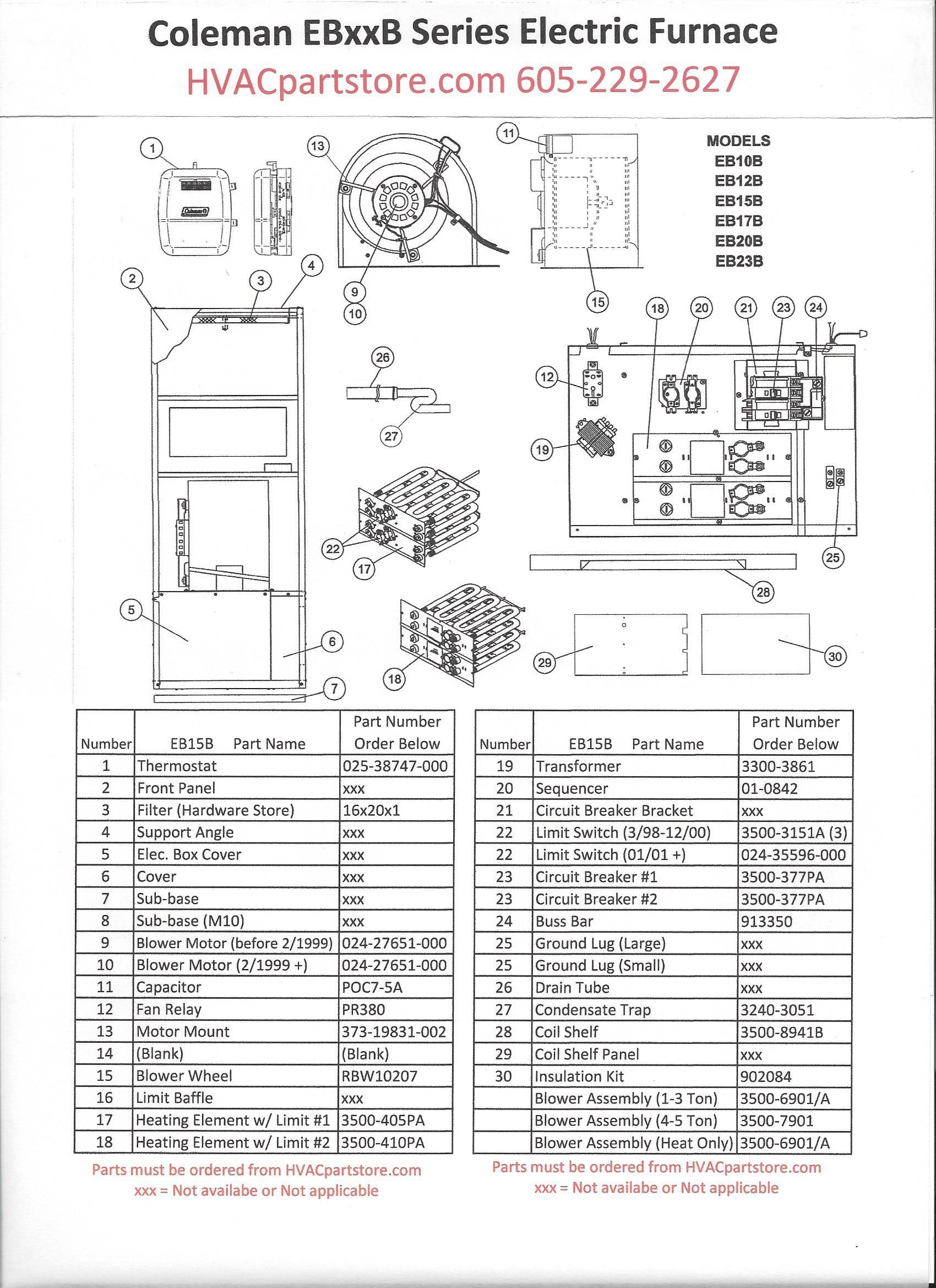 Electric Heat Furnace Wiring Diagram Download